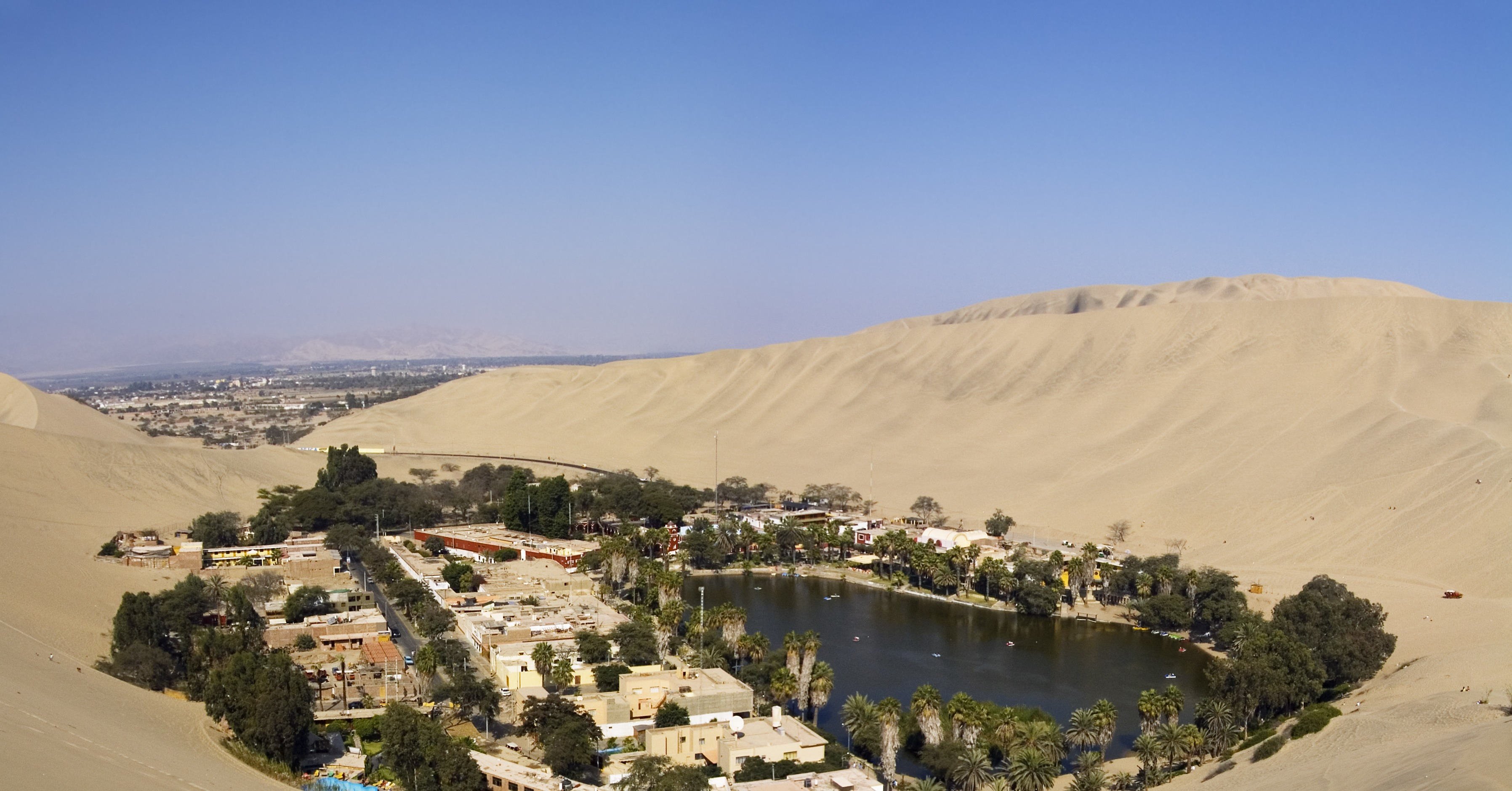 huacachina oasis peru 83 unreal places you thought only
