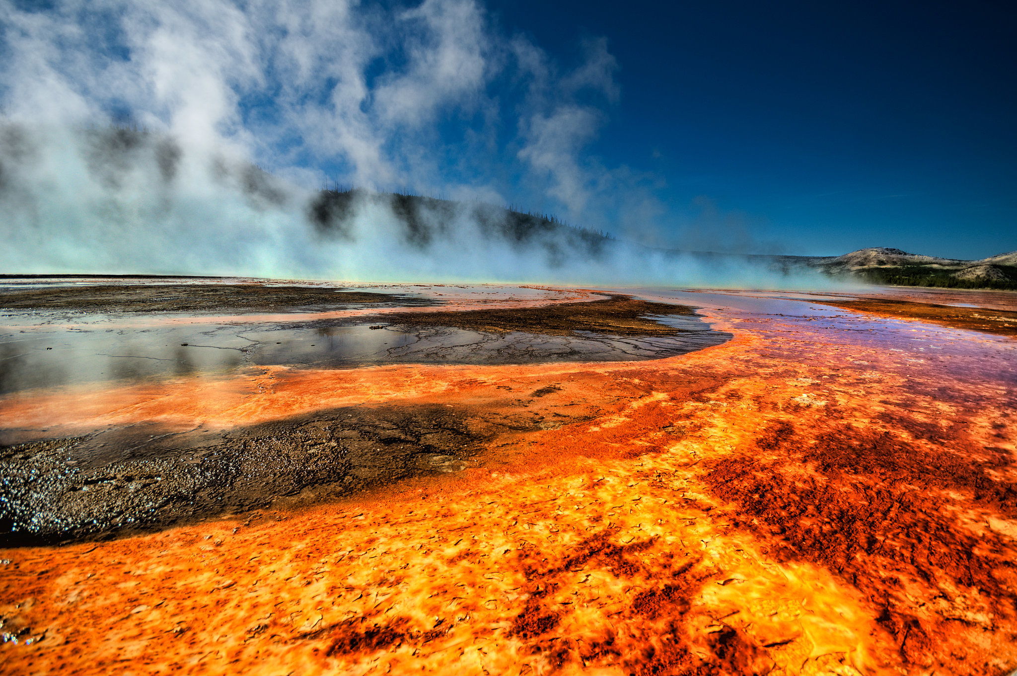 Grand Prismatic Spring, Wyoming