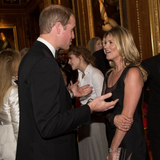 Kate Moss Flirting With Prince William at London Event