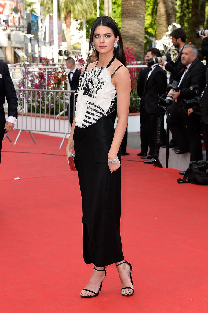 Kendall Jenner embraced her adult side at the Grace of Monaco red carpet.