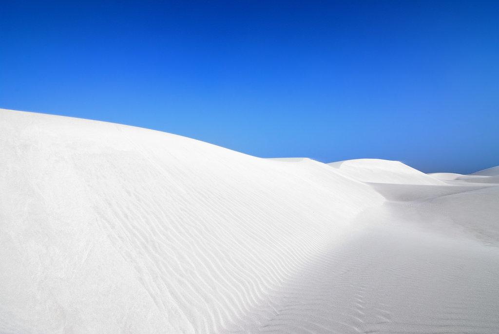 White Sand Dunes, Yemen