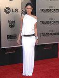 Megan Fox in White KaufmanFranco at the 2009 Transformers: Revenge of the Fallen LA Premiere