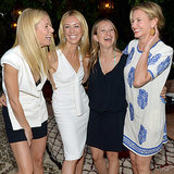 Gwyneth Paltrow And Chris Martin Together Party With Friends