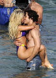 Julianne Hough and Diego Boneta were all over each other while filming Rock of Ages in Florida back in May 2011.
