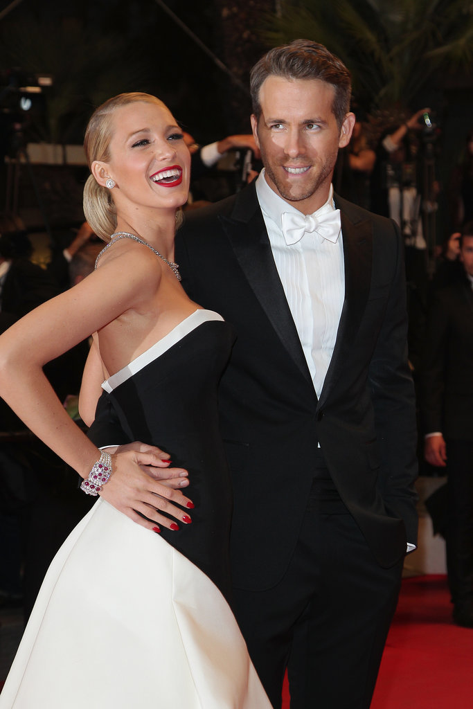 Blake Lively joined Ryan Reynolds at the red carpet premiere of The Captive.