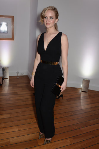 Jennifer Lawrence at the Vanity Fair and Armani Party