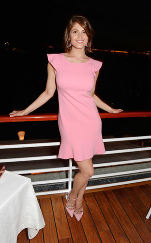 Gemma Arterton at the Charles Finch Filmmakers Dinner
