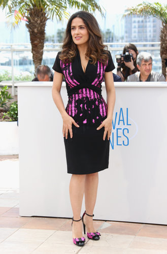 Salma Hayek Pinault at the Saint Laurent Photocall