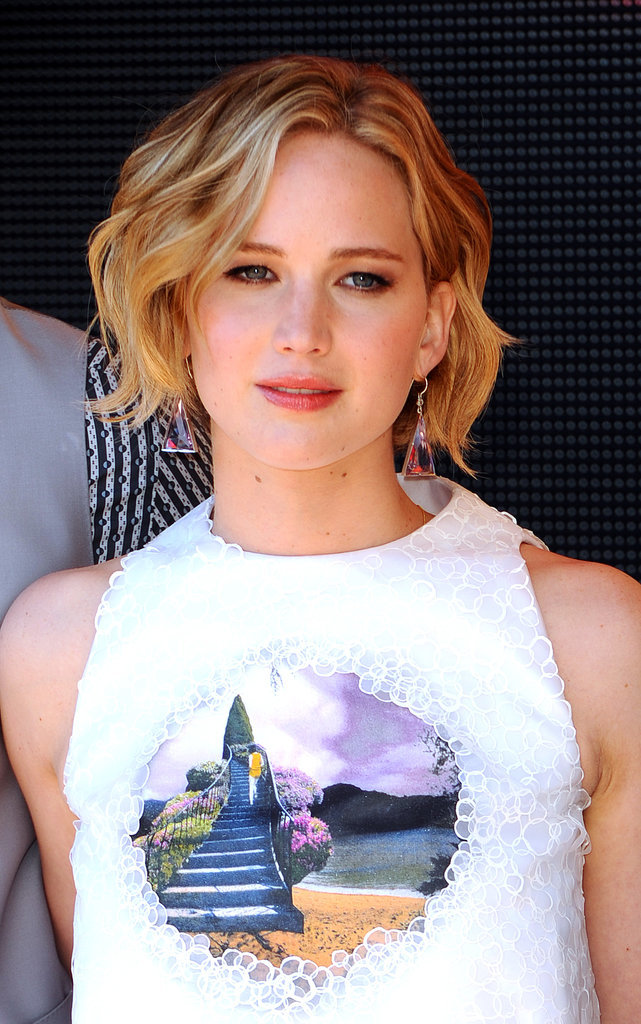 Jennifer's pixie-bob hybrid was front and center.