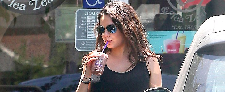 Ashton Takes Mom-to-Be Mila Out For a Sweet Treat