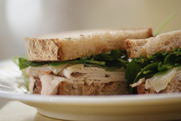 Turkey Sandwich With Manchego