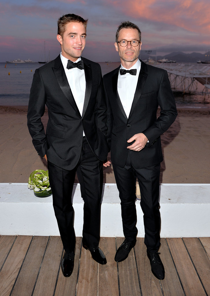 Robert Pattinson and Guy Pearce at the Rover Cocktail Party