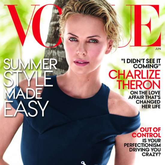 Charlize Theron Opens Up About Sean Penn in Vogue