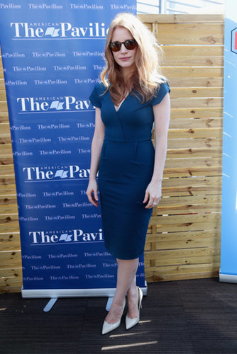 Jessica Chastain at Her AmPav Talk