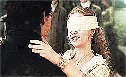 She Kissed Him Blindfolded