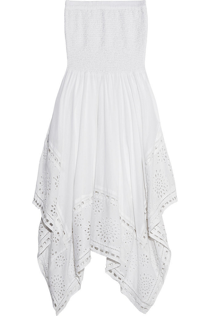Michael Michael Kors White Strapless Dress