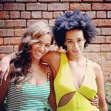 Beyoncé showed everyone she and Solange were cool in New Orleans. Source: Instagram user beyonce