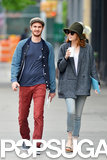 Emma and Andrew went for a walk on Wednesday.