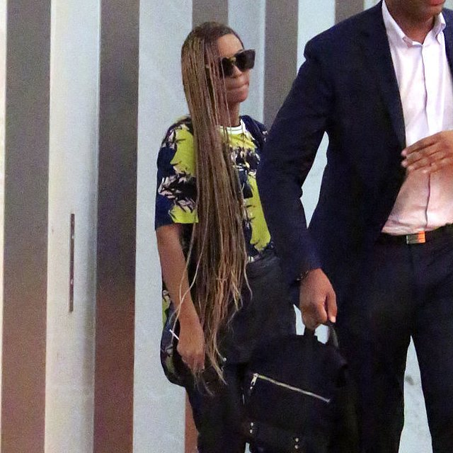 Beyonce's New Braided Hairstyle | Pictures