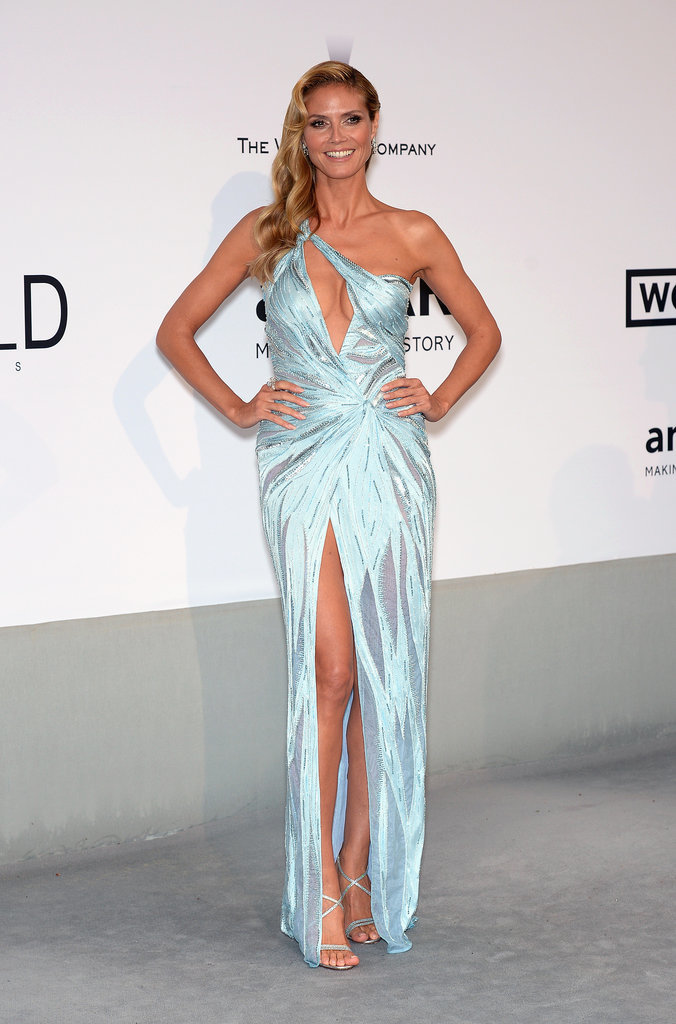 Heidi Klum at the amfAR Cinema Against AIDS Gala