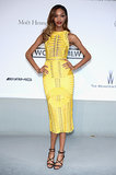 Jourdan Dunn at the amfAR Cinema Against AIDS Gala.