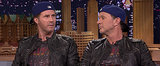 Watch Look-Alikes Will Ferrell and Chad Smith Have an Epic Drum-Off