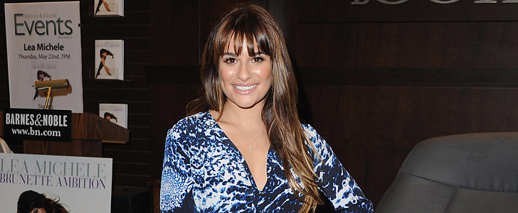Lea Michele Headed to LA —and She Brought Her Legs With Her