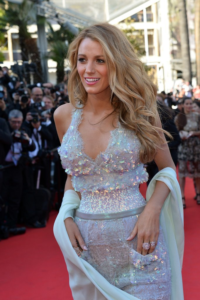 Blake Lively at the Mr. Turner Premiere