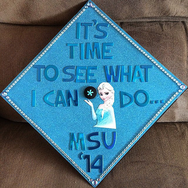 The best grad cap idea this year?  Source: Instagram user veronicaaa6