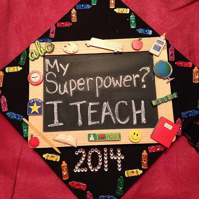 Because teachers are heroes.  Source: Instagram user littlekus