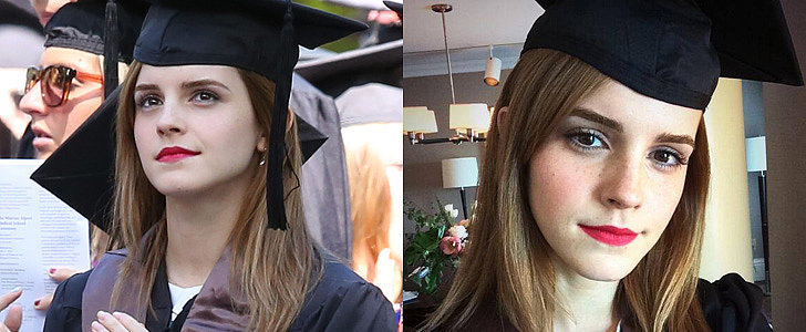 Emma Watson Graduates From Brown University!