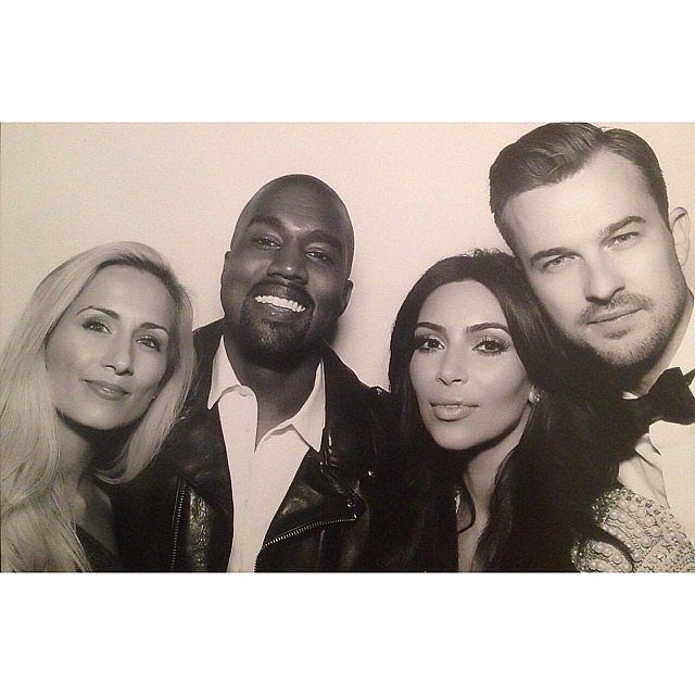 The pastor that married Kim and Kanye, Rich Wilkerson Jr., shared a photo of himself with the new married couple. Source: Instagram user richwilkersonjr