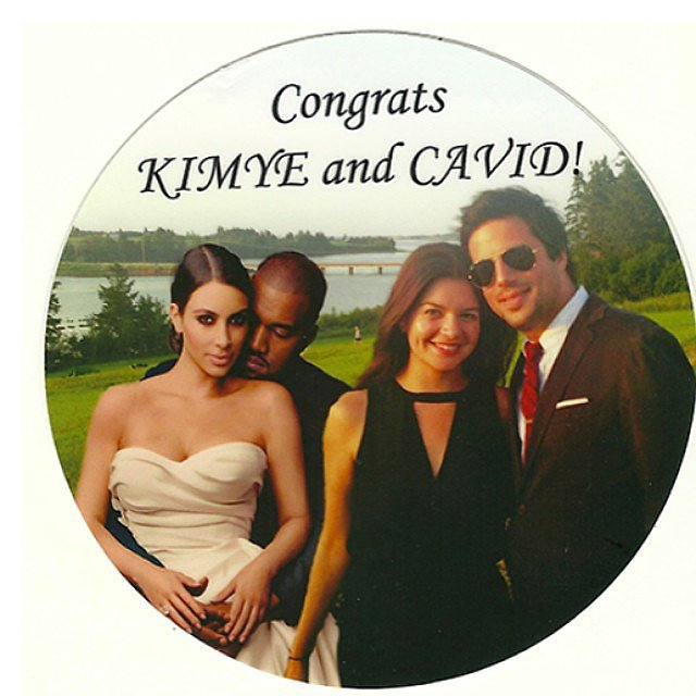 Casey Wilson had a special message for Kim Kardashian and Kanye West.  Source: Instagram user caseyrosewilson