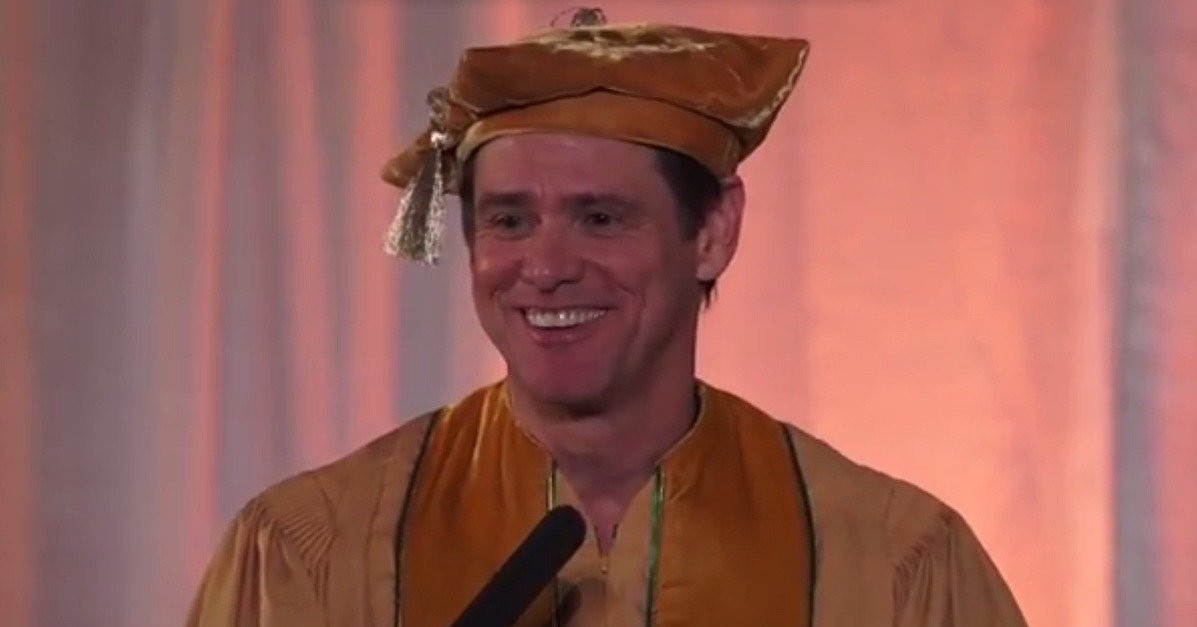 jim carrey commencement speech short