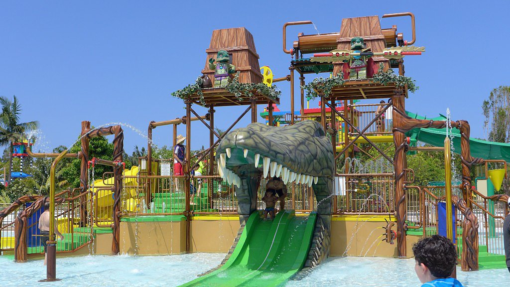 Legends of Chima Water Park (Legoland, Carlsbad, CA)