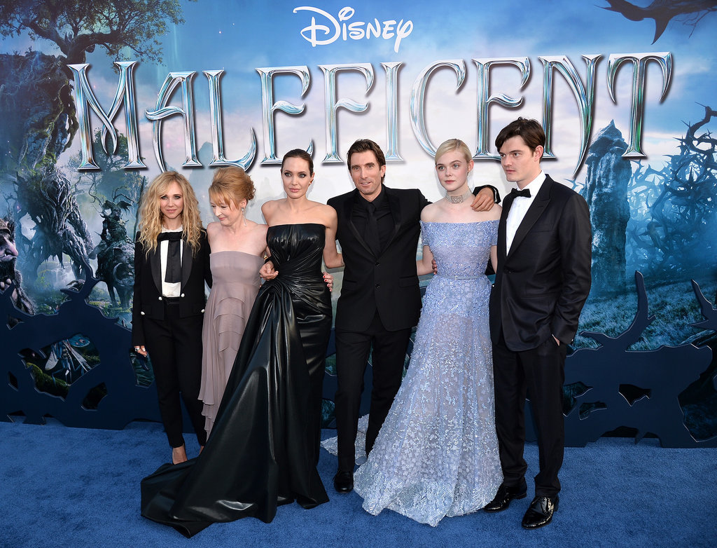Angelina Jolie and Brad Pitt Make Maleficent a Family Affair