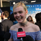 Elle Fanning Interview at Maleficent Premiere | Video
