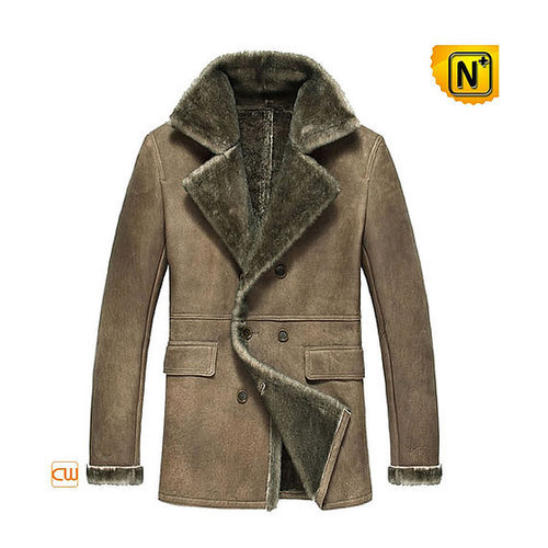 Shearling Jacket Coat Mens CW877206