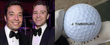 Why Jimmy Fallon Has Justin Timberlake's Name on His Balls