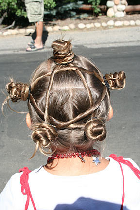 Star Twist Bun