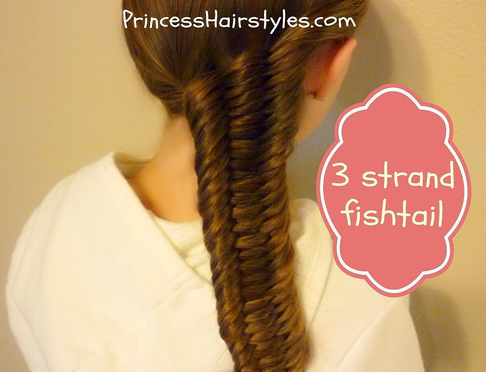 Three-Strand Fishtail Tutorial