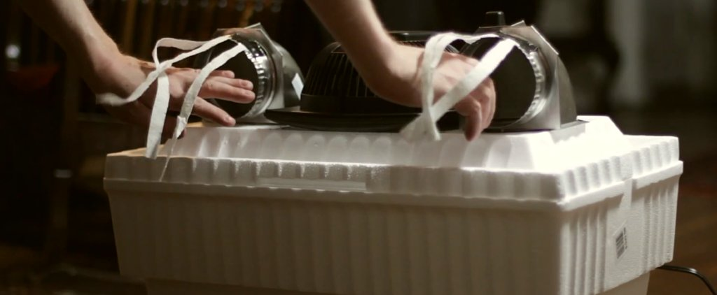 What a Cool Idea! DIY an Air Conditioner For $8
