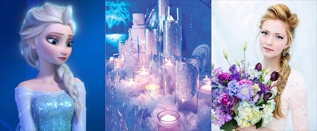 The Coolest (Pun Intended) Ideas For a Frozen-Themed Wedding