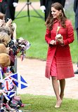 Kate Middleton at Crieff's Macrosty Park in 2014