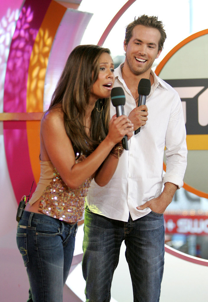 When He Cracked Up With Vanessa Minnillo on TRL