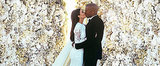 Kim and Kanye Photoshopped Their Wedding Pic For Instagram, and It Paid Off