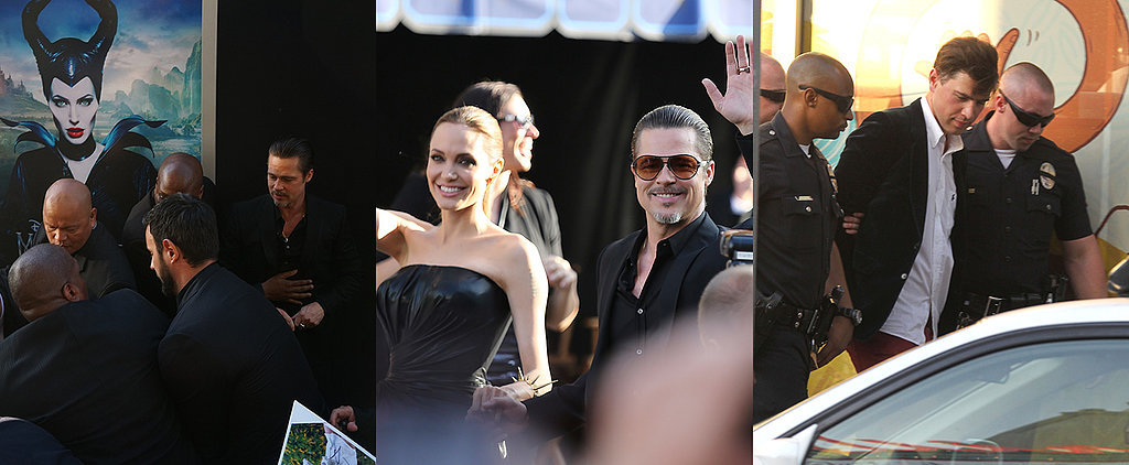 Brad Pitt's Red Carpet Attacker Is Officially Banned From Hollywood Events