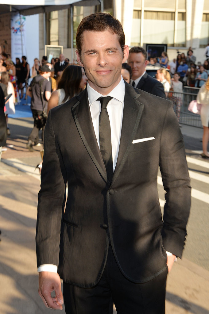 James Marsden arrived at the CFDA Awards.