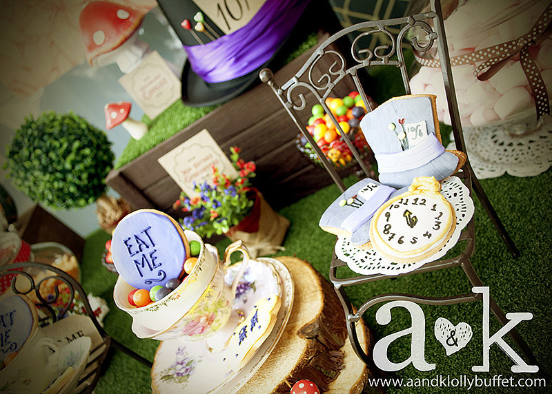 Jump Down the Rabbit Hole For a Mad Hatter Tea Party Baby Shower