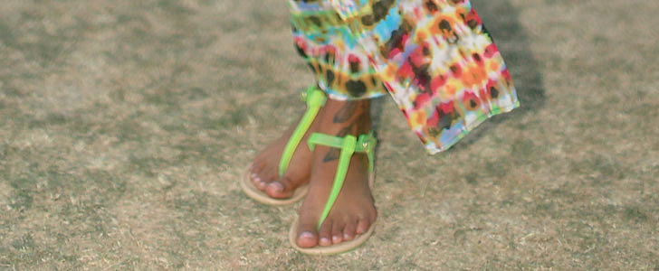You'll Never Guess This Trick For Fixing a Broken Flip Flop...
